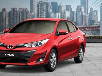 Lãi suất vay mua xe Toyota Vios trả góp (mới nhất 2019)