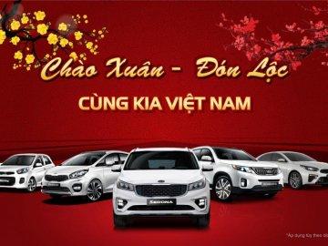 Đón Tết Kỷ Hợi cùng Kia, khách hàng Việt nhận lộc đầu Xuân mới