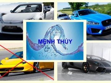 Bật mí thông tin mệnh Thủy mua xe màu gì hợp nhất