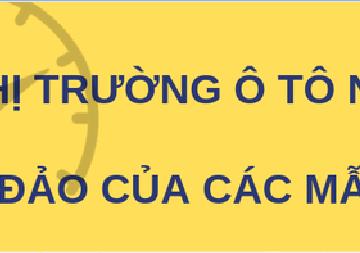 Thị trường ô tô Việt Nam năm 2018 - Sự áp đảo của xe nội địa