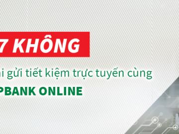 """7 """"không"""" khi gửi tiết kiệm trực tuyến cùng VPBank Online"""