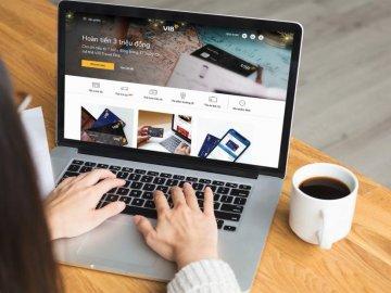 Những dịch vụ nổi bật trên website ngân hàng số VIB