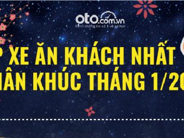 Top xe ăn khách nhất 7 phân khúc tại Việt Nam tháng 1/2019