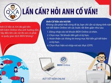 Cách tất toán tài khoản tiết kiệm online BIDV chi tiết nhất