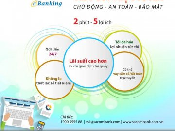Gửi tiết kiệm online Sacombank có khó không?