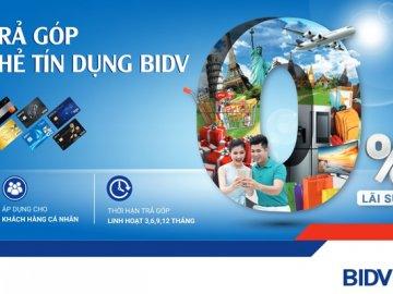 Cập nhật ưu đãi thẻ tín dụng BIDV mới nhất hiện nay