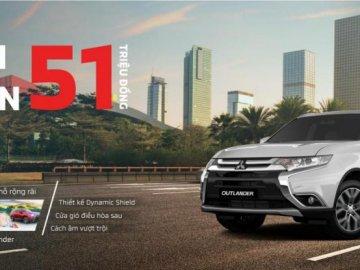 Ưu đãi giảm giá sâu khi mua xe Mitsubishi - tối đa lên đến 51 triệu đồng