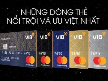 So sánh các loại thẻ tín dụng VIB ưu đãi nhất hiện nay