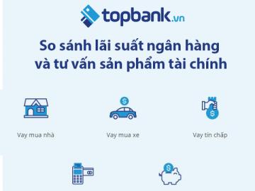 Topbank.vn – Dễ dàng so sánh hàng trăm sản phẩm tài chính chỉ với một cú click