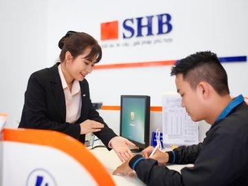 Vay tín chấp theo lương SHB - gấp 15 lần thu nhập, tối đa 400 triệu
