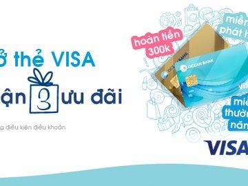 Cập nhật thông tin phí thường niên thẻ tín dụng Oceanbank