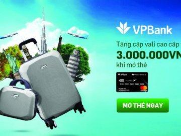 Mở thẻ tín dụng VPBank - Vietnam Airline nhận quà cực khủng