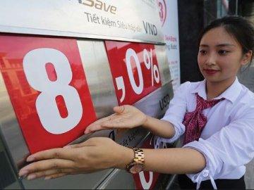Lãi suất huy động của ngân hàng nơi 8,6%, nơi 6,8%