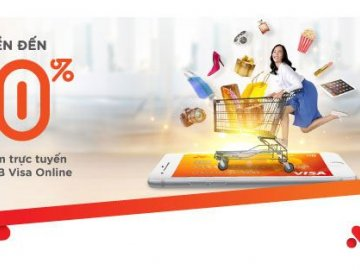 Hoàn tiền 20% khi thanh toán online bằng thẻ tín dụng MSB Visa Online