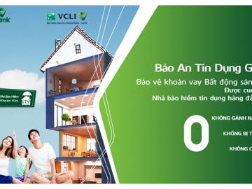 Giải pháp bảo hiểm an toàn cho khách hàng vay mua bất động sản tại Vietcombank