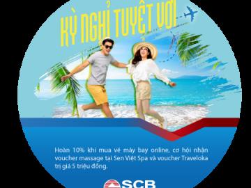 Kỳ nghỉ tuyệt vời dành cho chủ thẻ quốc tế SCB