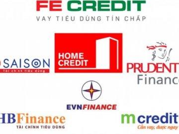 Danh sách các công ty tài chính cho vay trả góp uy tín nhất hiện nay