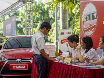 Toyota Việt Nam thắng đậm với 7.334 xe bán ra trong tháng 9/2019