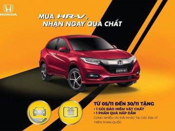 """Tháng 11, mua xe Honda HR-V nhận quà """"chất ngất"""""""