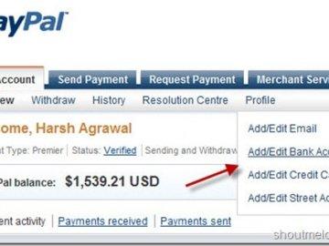 Rút tiền từ PayPal về tài khoản ngân hàng miễn phí