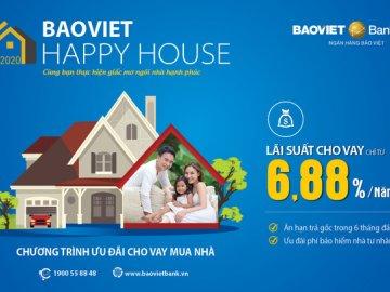 Ngân hàng Bảo Việt cho vay ưu đãi mua bất động sản, xây dựng, sửa chữa nhà ...