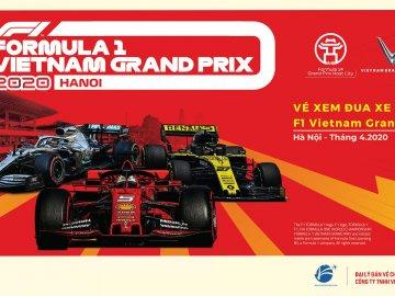 VPBank giảm 5% cho khách hàng mua vé giải đua F1