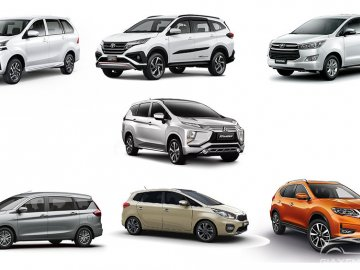 Top 5 xe ô tô gia đình 7 chỗ đáng mua nhất hiện nay