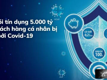 BIDV tung gói cứu trợ 5.000 tỷ đồng cho khách hàng cá nhân