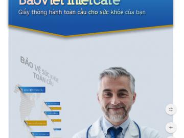 Quyền lợi chi tiết của bảo hiểm sức khỏe Bảo Việt Intercare