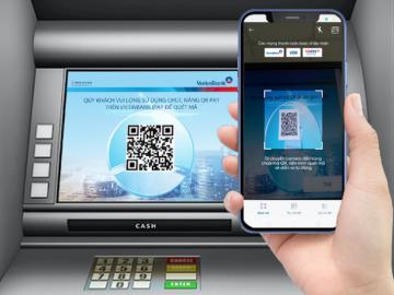 Không cần dùng thẻ vẫn rút được tiền từ máy ATM Vietinbank