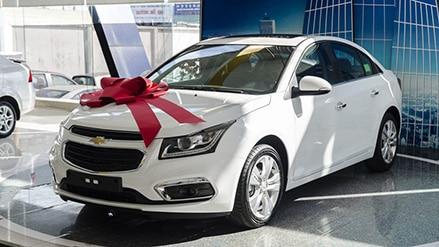 Mua xe Chevrolet Cruze trả góp với lãi suất ưu đãi nhất (Năm 2019)