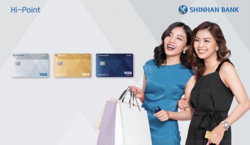 Cập nhật lãi suất thẻ tín dụng Shinhan Bank và biểu phí sử dụng thẻ