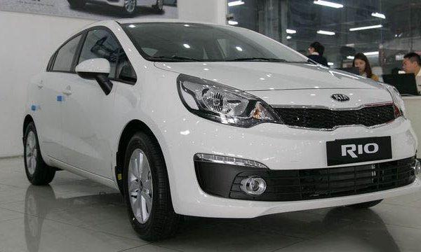 Lãi suất vay mua xe ô tô Kia Rio trả góp cập nhật mới nhất