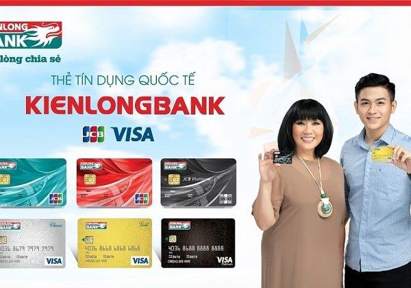 Thông tin ưu đãi nhất về lãi suất thẻ tín dụng Kienlongbank