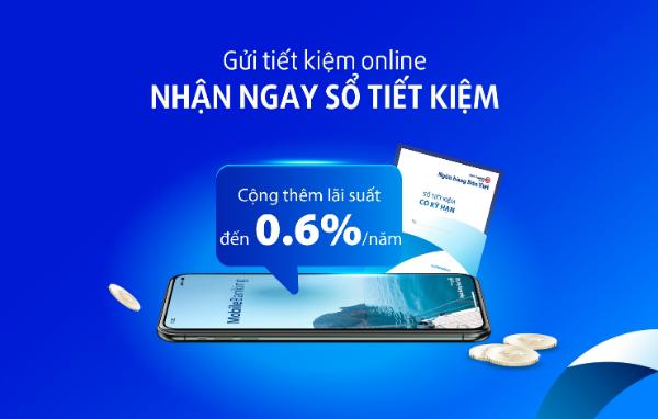 Ngân hàng Bản Việt cộng thêm lãi suất cho khách hàng gửi tiết kiệm online