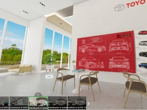 Toyota Philippines cung cấp trải nghiệm showroom thực tế ảo 3D mùa Covid