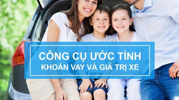 Ứớc tính khoản vay và giá trị xe mua – tiện ích nổi bật của website Topbank.vn