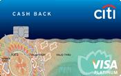 Ngân hàng Citibank - Thẻ CashBack Visa Platinum