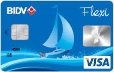 Ngân hàng BIDV - Thẻ BIDV Visa Flexi
