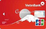 Ngân hàng VietinBank - Thẻ JCB Cremium Chuẩn