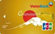 Ngân hàng VietinBank - Thẻ JCB Cremium Vàng
